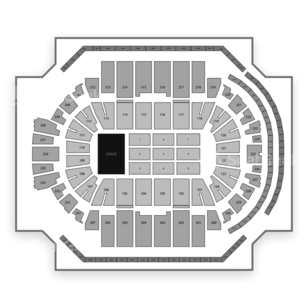 XL Center Seating Chart Concert
