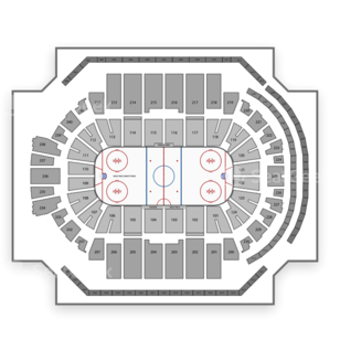 UConn Huskies Men's Ice Hockey Seating Chart
