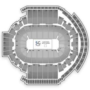 XL Center Seating Chart Family