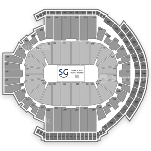 XL Center Seating Chart NHL