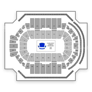 American Athletic Conference Tournament Seating Chart