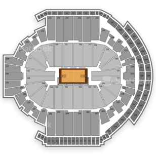 XL Center Seating Chart NCAA Basketball