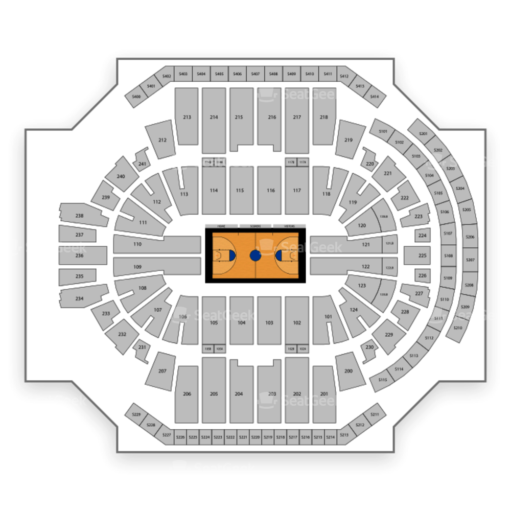 Connecticut Huskies Basketball Seating Chart