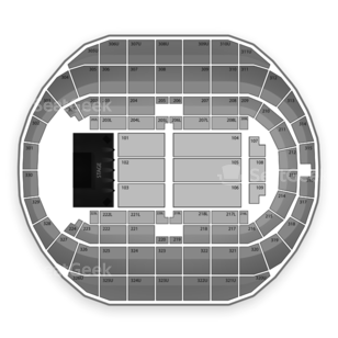 Von Braun Center Seating Chart Concert
