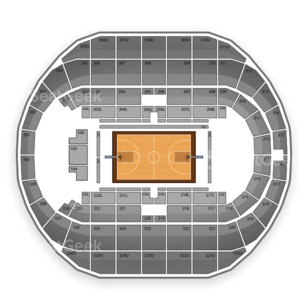 Von Braun Center Seating Chart NCAA Basketball