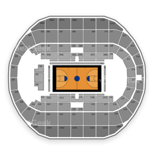 Von Braun Center Propst Arena Seating Chart NCAA Basketball