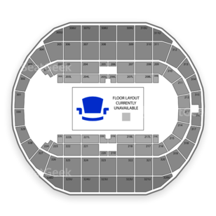 Von Braun Center Propst Arena Seating Chart Concert