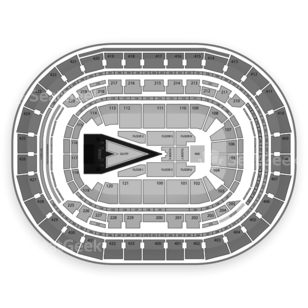 Verizon Center Seating Chart Concert