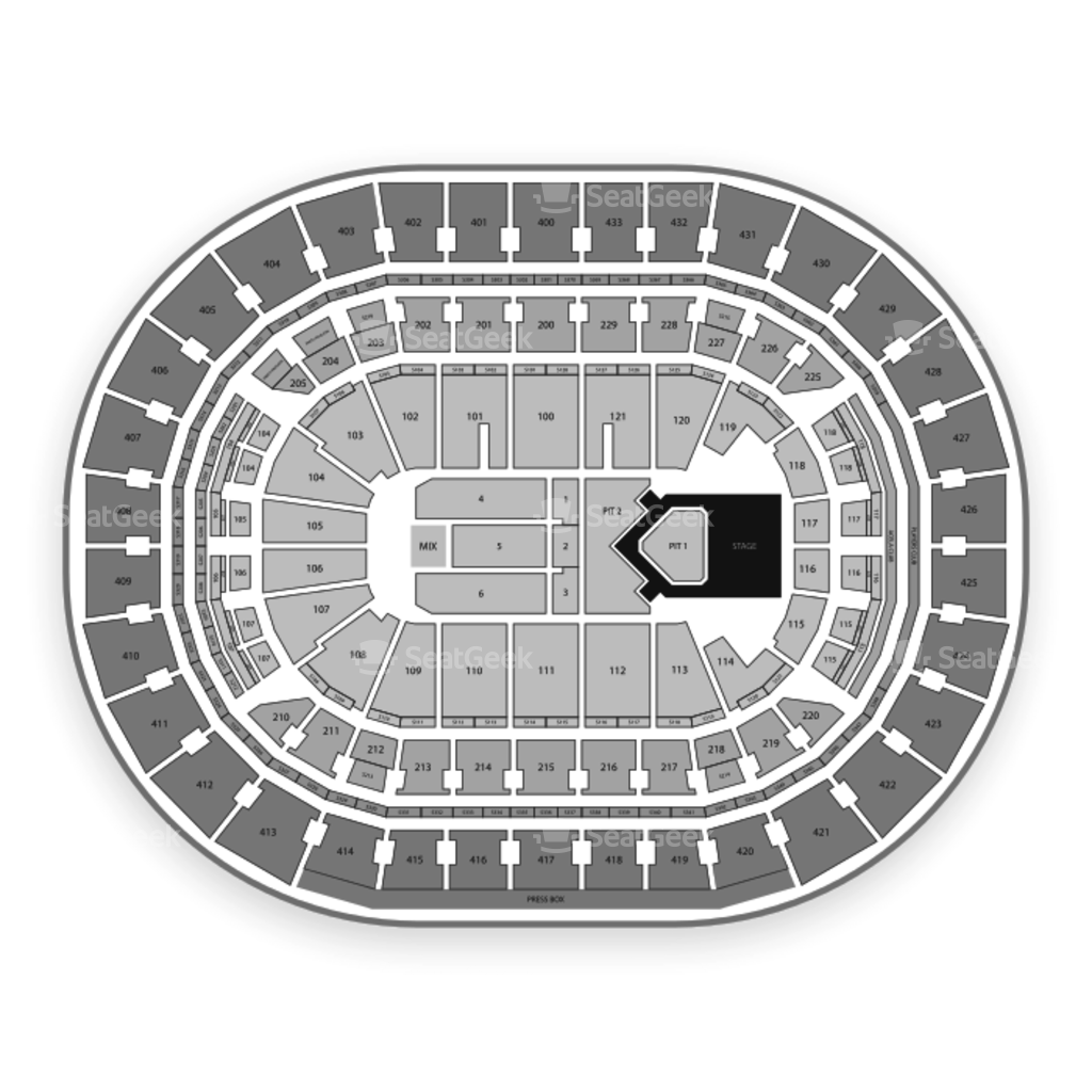 photo regarding Washington Capitals Schedule Printable referred to as Washington Capitals Seating Chart Map SeatGeek