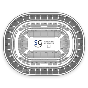 Verizon Center Seating Chart Sports