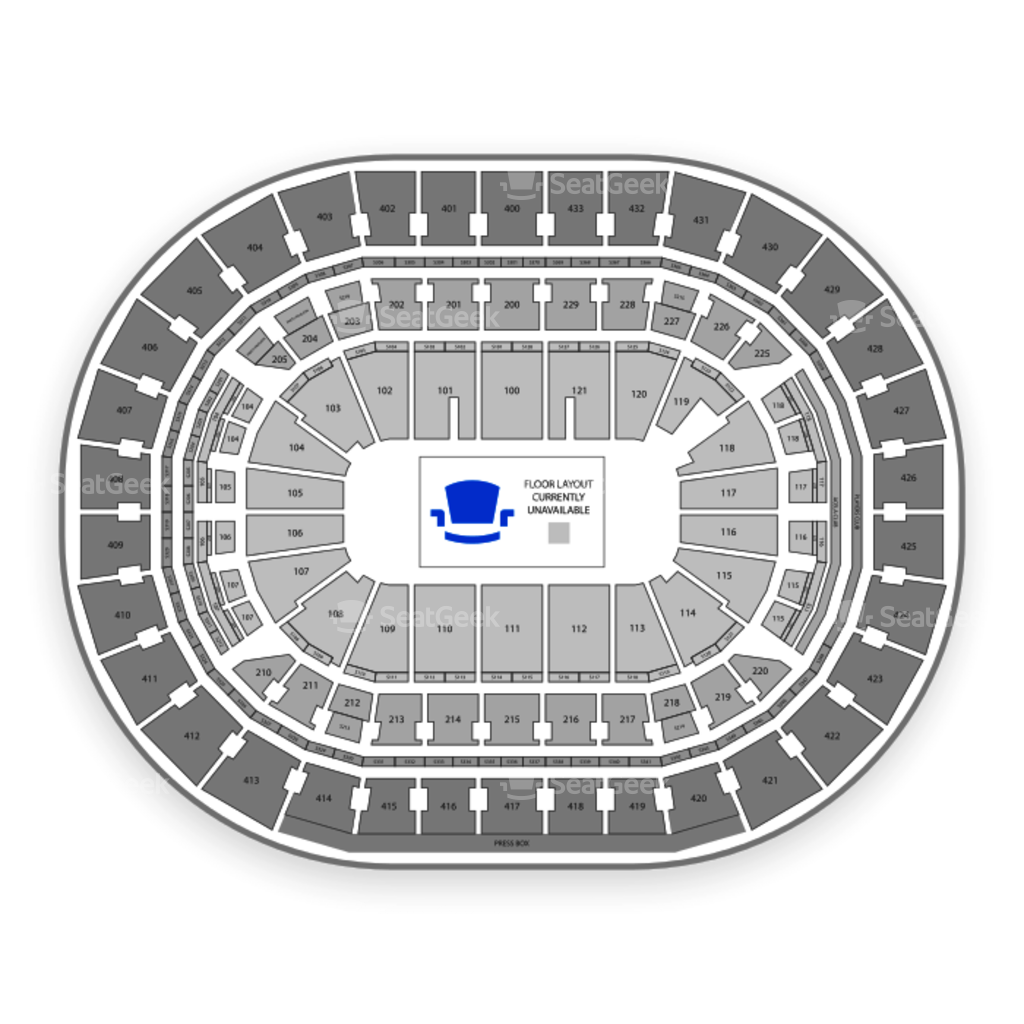 Capital One Arena Seating Chart Interactive Seat Map SeatGeek - Verizon center seating map