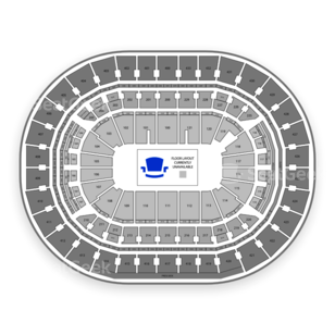 Capital One Arena Seating Chart Football