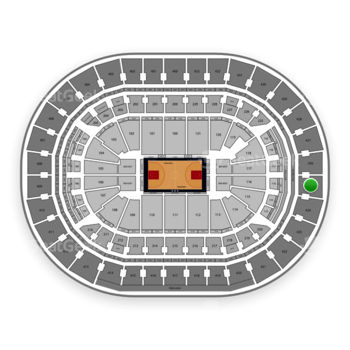 Washington Wizards at Capital One Arena Section 425 View