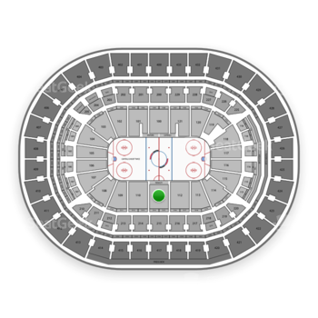 Washington Capitals at Capital One Arena Section 111 View