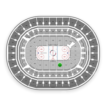 Washington Capitals at Capital One Arena Section 112 View