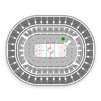 Washington Capitals at Capital One Arena Section 120 View