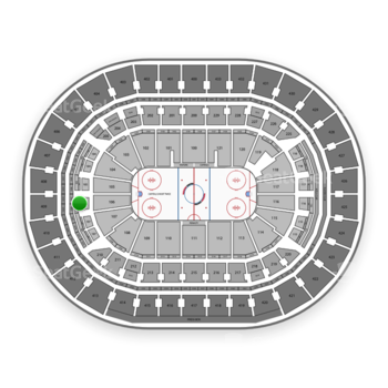Washington Capitals at Capital One Arena Section 208 View