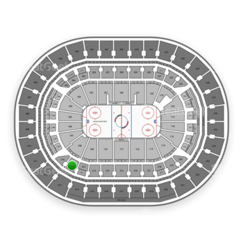 Washington Capitals at Capital One Arena Section 211 View