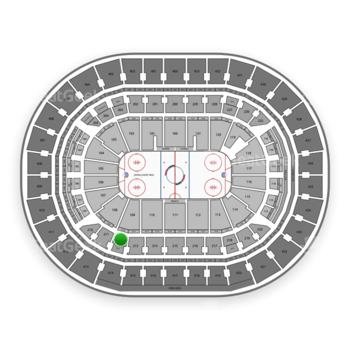 Washington Capitals at Capital One Arena Section 212 View