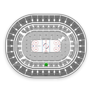 Washington Capitals at Capital One Arena Section 215 View