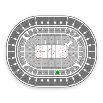 Washington Capitals at Capital One Arena Section 216 View