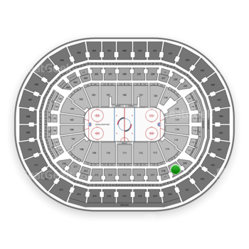 Washington Capitals at Capital One Arena Section 219 View
