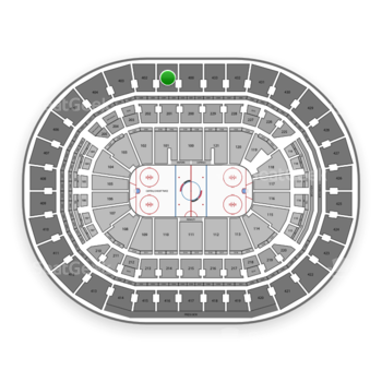 Washington Capitals at Capital One Arena Section 401 View