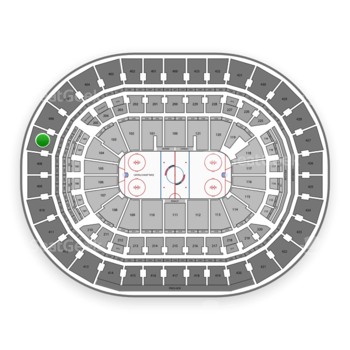 Washington Capitals at Capital One Arena Section 407 View