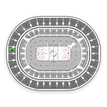 Washington Capitals at Capital One Arena Section 408 View