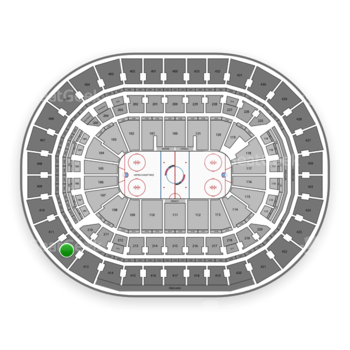 Washington Capitals at Capital One Arena Section 412 View