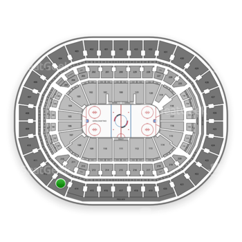 Washington Capitals at Capital One Arena Section 413 View