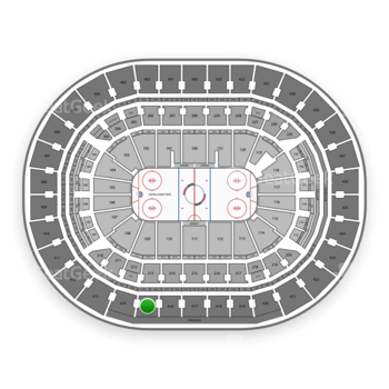 Washington Capitals at Capital One Arena Section 415 View