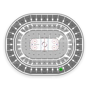 Washington Capitals at Capital One Arena Section 420 View