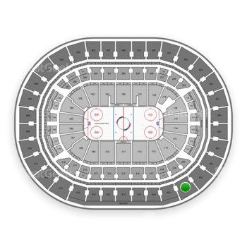 Washington Capitals at Capital One Arena Section 421 View
