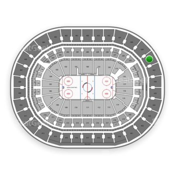 Washington Capitals at Capital One Arena Section 428 View