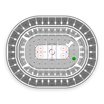 Washington Capitals at Capital One Arena Section 115 View