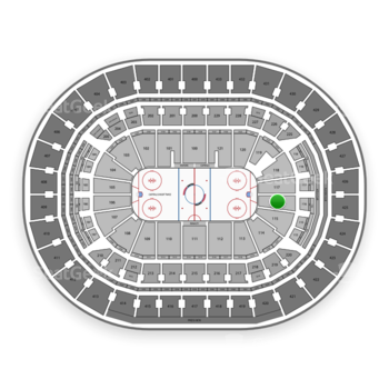 Washington Capitals at Capital One Arena Section 116 View