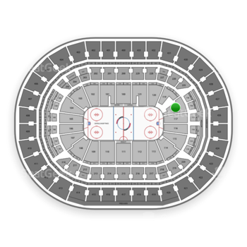 Washington Capitals at Capital One Arena Section 118 View