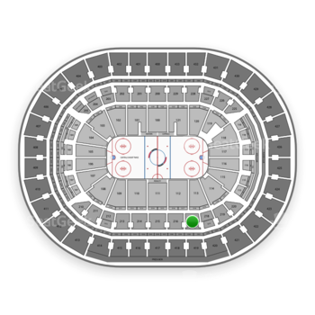 Washington Capitals at Capital One Arena Section 217 View
