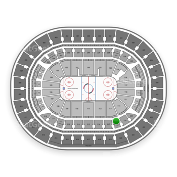 Washington Capitals at Capital One Arena Section 218 View