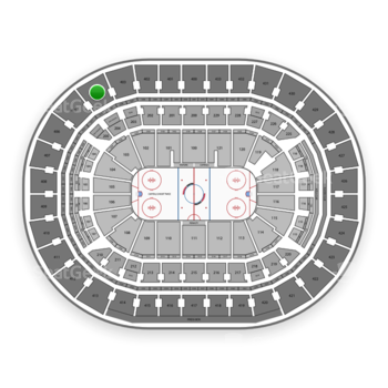 Washington Capitals at Capital One Arena Section 404 View