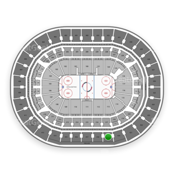 Washington Capitals at Capital One Arena Section 419 View