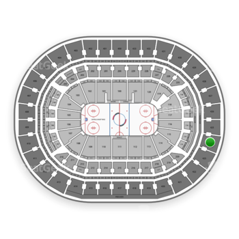 Washington Capitals at Capital One Arena Section 424 View