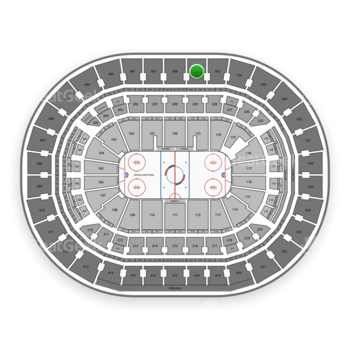 Washington Capitals at Capital One Arena Section 433 View