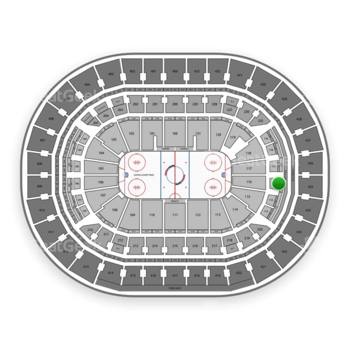 Washington Capitals at Verizon Center Section 222 View