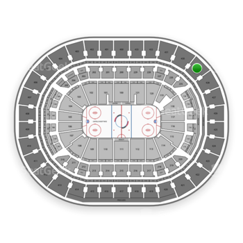 Washington Capitals at Verizon Center Section 429 View