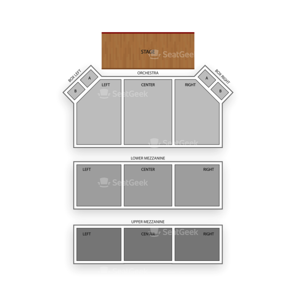 Apollo Theater Seating Chart Classical
