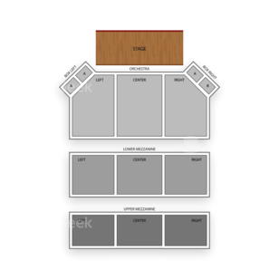 Apollo Theater Seating Chart Comedy