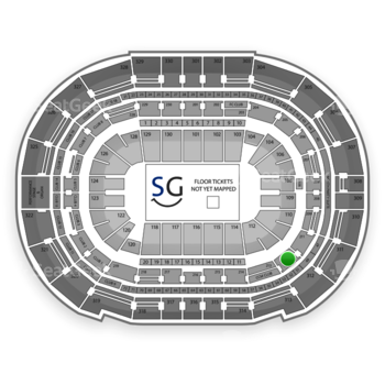 Tampa Bay Lightning at Amalie Arena Section 212 View