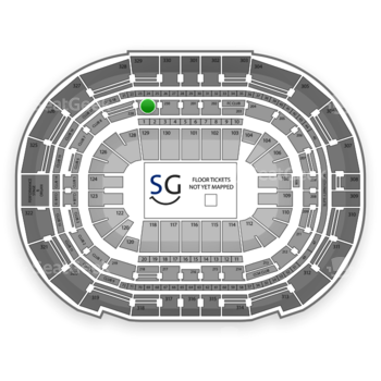 Tampa Bay Lightning at Amalie Arena Section 229 View